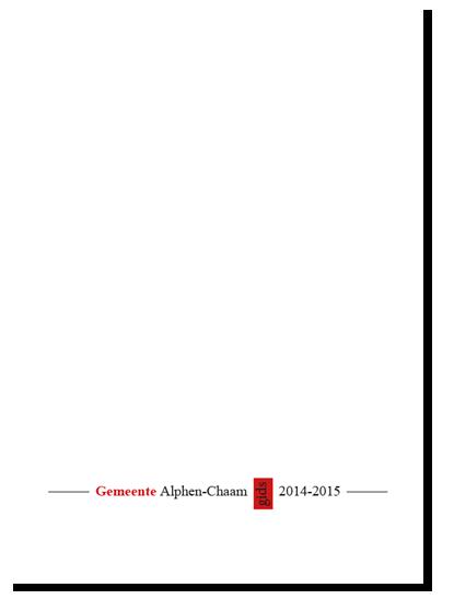 Gemeentegids Alphen Chaam